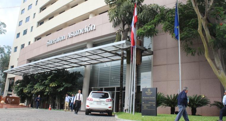 Paraguay: Grupo Cartes compró el Sheraton, el Aloft y otro hotel en construcción